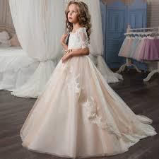 popular peach girls pageant dress buy cheap peach girls pageant