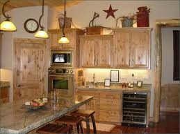 To Get The New Kitchen Wooden Oven Cabinets Wine Decor Ideas