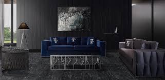 casa padrino luxus sofa blau silber 240 x 95 x h 65 cm wohnzimmer sofa mit dekorativen kissen luxus wohnzimmer möbel