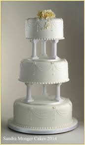 Ideas Cake Traditional Wedding Cakes With Fountains S Red Black U