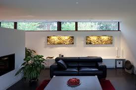glashaus modern wohnzimmer berlin fritzglock