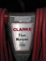 Clarke Floor Maintainer Model 2000 by Clarke Floor Maintainer Model 1700 U2013 Gurus Floor