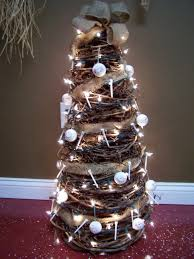 3ft Christmas Tree by Porch Primitive Crafts Golf Themed 3ft Grapevine Tree With