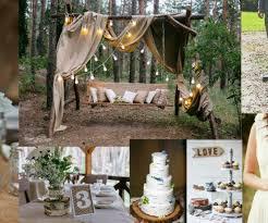 Rustic Outside Wedding Ideas Backyard Weddings Country
