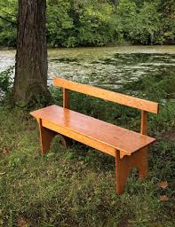 shaker inspired bench popular woodworking magazine