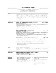 Profile On Resume Template Example For Resumes Examples Customer Service Sales Account Re