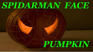 Easy Shark Pumpkin Carving by Carving Pumpkin Like Spidarman Face Youtube