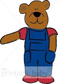 Farmer Bear Clipart