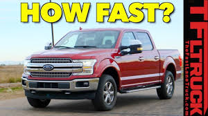 How Fast Is The 2018 Ford F150 3.5L EcoBoost V6 At 0-60 MPH? We Run ... New 2019 Ford Ranger Pickup Revealed At Detroit Auto Show Business Say Goodbye To Nearly All Of Fords Car Lineup Sales End By 20 10 Faest Pickup Trucks Grace The Worlds Roads 2018 F150 Can 32 Million Americans Be Wrong Ecoboost Quarter Mile 14 Built And Tuned Mpt Recalls Over Dangerous Rollaway Problem The Xlt Supercrew 44 Finds A Sweet Spot Drive 2014 Tremor To Pace Nascar Race Michigan 2016 Vs Chevrolet Silverado 1500 Kid Cnection Fast Trax 2pack Walmartcom Are You And Furious Enough Buy This 67 Chevy C10 Truck