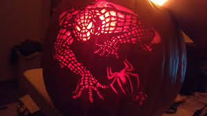 Spiderman Pumpkin Carving by How To Carve Spiderman 9 Steps With Pictures