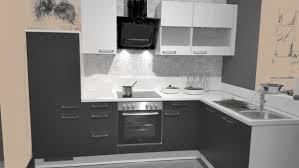 einbauküche mankakappa 1 anthrazit weiß küchenzeile l form küche 285x165 mit e geräte