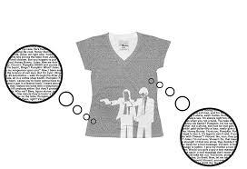 Pulp Fiction Pumpkin by Miramax Shop Pulp Fiction Women U0027s Screenplay T Shirt