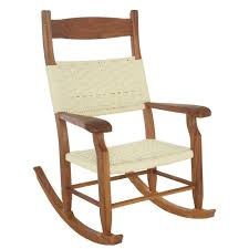 100 Wooden Outdoor Rocking Chairs Hatteras S Chair Oatmeal DuraCord Rope RCKBOT