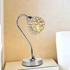Crystal Table Lamp Finials by Table Lamp Table Lamp Glass Ball Stacked Crystal Base Shade Uk