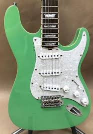 Hamiltone Custom Limited Edition Seafoam Green Set Neck Guitar