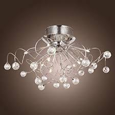 dinggu flush mount modern dimmable ceiling chandelier lighting