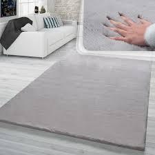 hochflor teppich wohnzimmer kunstfell softes kaninchenfell imitat