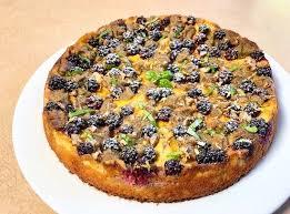 blackberry kuchen keto low carb sugar free vegetarian