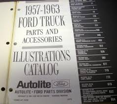 1957 - 1963 Ford Truck Parts Book Catalog Accessories Pickup Panel ... Ford F150 1517 Led Taillights Truck Car Parts 4268rbk Recon 56 1956 F100 Lmc Accsories Cargo Australia 401953 Original Master Cross Reference Decal Sticker Graphic Side Stripes For Bed Light Mudguard Sale Grill Guard Online Brands Prices Custom Accsories F150 197379 And Accessory Catalog 1500 481972 2016 By Concours 1948 1949 1950 51 1952 1953 1954 Big Job Technical Drawings Schematics Section E Engine