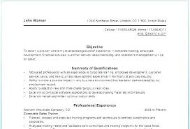 Example Of Personal Resume Skills