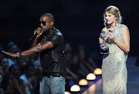 Kanye West Takes The Microphone From Taylor Swift And Speaks Onstage During 2009 MTV Video