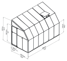 6 X 12 Shed Kit by Rion Sunroom Kit 6 X 12 Clear Acrylic Panels Palram Greenhouse Store