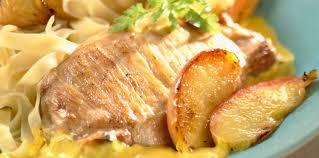 côtes de porc à la crème de curry facile et pas cher recette