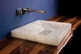 la vasque à poser rectangulaire en 67 photos inspirantes archzine fr