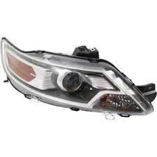 2012 2013 ford taurus passenger side headlight halogen