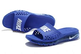 Germany Nike Air Max Beach Mat Slippers Mens Shoes Sale Sapphire Blue