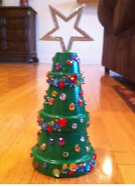 Potted Christmas Trees For Sale by Flower Pot Christmas Tree Cute Craft For Next Year Christmas