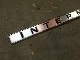 IH INTERNATIONAL TRUCK TRAVELALL 1967-68 FRONT GRILLE EMBLEM NOS ... Ih Intertional Truck Blem S180 Scout Triple Diamond Blem On A 1949 Intertional Kb5 Truck In Manor Car Emblems For Sale Auto Logo Online Brands Prices Reviews City Chrome Parts Gauge Emblem Engine Oil 1948 Harvester Ihc Kb2 34 Ton Panel Amazoncom 1 New Custom 0507 F250 F350 F450 F550 60l Power K Kb Series Triple Diamond 1956 R1856 Fire Old East Coast Trucks Inc Youtube 2 Chrome Ford 73l Powerstroke Product Information Commercial Equipment Services Dallas Texas