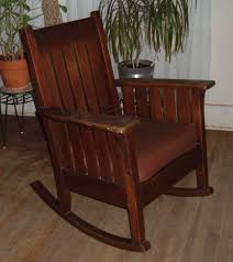 Mission Rocking Chair | Collectors Weekly Victorian Arts And Crafts Solid Oak Antique Glastonbury Chair Original Primitive Press Back Rocking 1890 How To Appraise Chairs Our Pastimes Bargain Johns Antiques And Mission Identifying Ski Country Home Replace A Leather Seat In An Everyday Wooden High Chair From 1900s Converts Into Rocking Lborough Leicestershire Gumtree Sold Style Refinished Maple American Style Childs Antiquer Rocker Reupholstery Vintage