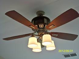 Hunter Contempo Ceiling Fan Canada by Clarkston 44 In Indoor Brushed Nickel Ceiling Fan 112 Hp 1ph