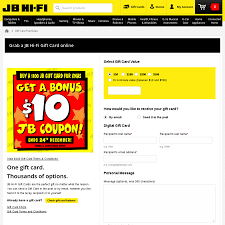 Buy A $100 JB Hi-Fi Gift Card & Get $10 Bonus Coupon @ JB Hi ... Free Itunes Codes Gift Card Itunes Music For Free 2019 Ps4 Redeem Codes In 2018 How To Get Free Gift What Is A Code And Can I Use Stores Academy Card Discount Ccinnati Ohio Great Wolf Lodge Xbox Cardfree Cash 15 App Store Email Delivery Is Ebates Legit Stack With Offers Save Big Egift Top Deals On Cards For Girlfriend Giftcards Inscentives By Carol Lazada 50 Voucher Coupon Eertainment
