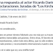 La Carta Completa Que Cristina Le Envió A Darín Rosario3