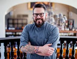 bonterra dining wine room chef blake hartwick joins wings in