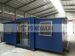 100 Container Homes For Sale Hot Item Folding 40FT Shipping For Philippines