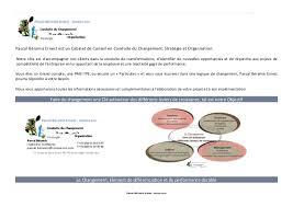 cabinet de conseil conduite du changement teasing pascal beramis ernest innova cso