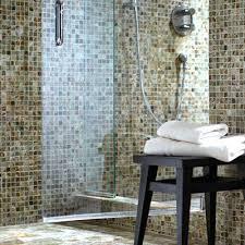 Brown Mosaic Bathroom Mirror by Brown Mosaic Bathroom Mirror Handsome Tile In Tiled Bathrooms With