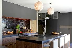 cuisine americaine de luxe étourdissant table cuisine americaine et cuisine moderne ouverte sur