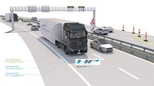 Production-Ready Mercedes Autonomous Truck Takes To The Autobahn: Video