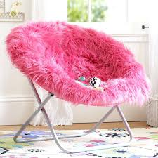 Pink Fur Chair Fluffy Bean Bag