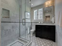 sophisticated black and white bathroom design ideas
