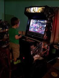 Arcade Cabinet Plans Tankstick by My New Ki Custom Arcade Cabinet Artwork U0026 Videos Killer