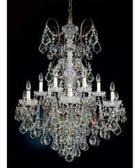 schonbek 3658 new orleans 32 inch wide 14 light chandelier