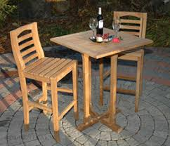Teak Outdoor Bar Table and Chairs Teak Bar Stools Teak Wood