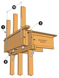 Floor Joist Size Residential by Cantilever Floor Induced Load Path Concerns Simpson Strong Tie