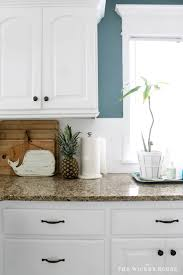 My Fresh New Blue Kitchen Reveal