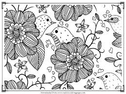 Free Bird Adults Coloring Pages To Print Printable